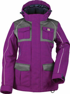 Divas Snow Gear Arctic Appeal Deep Berry Snowmobile Winter Jacket