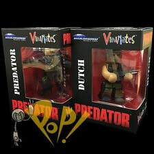 DUTCH & PREDATOR Vinimate Figure SET Diamond Select MINIMATES Schwarzenegger!