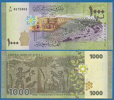 Syria 1000 Pounds P 116 New 2013 UNC Low Shipping! Combine FREE!