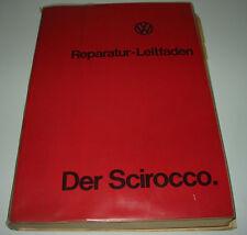 Werkstatthandbuch VW Scirocco I Typ 53 Reparaturanleitung Stand April 1974