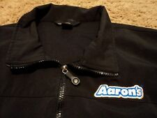 Aaron's Rents Employee Uniform Sleeveless Vest Jacket Windbreaker Shirt Large