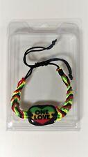 Jamaica One Love Bracelet DA RASTA MON Bob Marley Style Jamaican