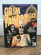 Grim Fandango IBM PC CD-Rom Big Box Adventure Game by LucasArts Vintage Retro