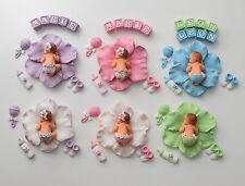 Baby Fondant Zuckerfigur Tortenaufleger Tortendekoration Tortendeko Taufe Geburt