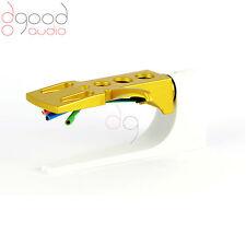 Gold headshell / cartridge wire / stylus for turntable / stanton Technics DJ