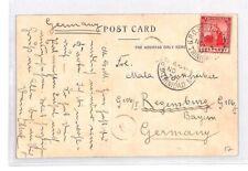 BN158 1907 Trinidad Port Of Spain Postal Stationery Postcard PTS