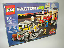 LEGO ® Factory 10200 COSTUM CAR GARAGE NUOVO OVP B-Ware NEW MISB NRFB B-Ware