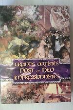"""COFFRET 4 DVD """"Grands Artistes Post et Néo Impressionnistes"""" NEUF SOUS BLISTER"""