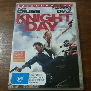 Knight and Day DVD R4 Like New! FREE POST