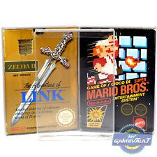 25 x Nintendo NES Game Box Protectors STRONGEST 0.5mm PET Plastic Display Cases