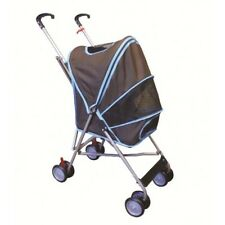 "Amoroso wheel, kennel size H22"" x L14"" x W12"" 6146-Brown Stroller New"