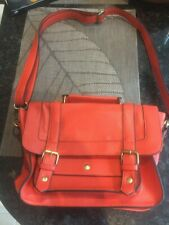 Handbag shoulder bag red satchel Accessorize in beautiful condition
