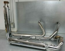 Nice '17-20 Harley Davidson CVO Touring Chrome Exhaust Assembly OEM Used