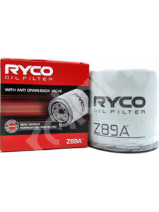 Ryco Oil Filter FOR FIAT 128 (Z89A)