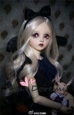 1/6 6-7 Bjd wig MSD MDD /Luts Obitsu60 DD Doll blonde wig hair