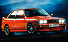 "BMW M3 SPORT EVOLUTION E30 A1 CANVAS PRINT POSTER 33.1""x21.4"""