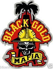 BLACK GOLD MAFIA HARD HAT STICKER HELMET STICKERS TOOLBOX STICKER LUNCH BOX