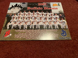 2007 Buffalo Bisons Team Picture Lucky Charms Photo
