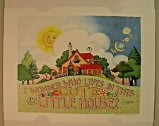 Mary Engelbreit 2021 Collectible Print Snow White Quote 12x9�