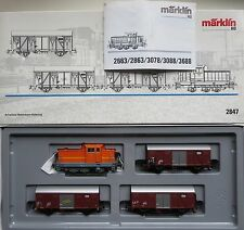 i390 Märklin Zugpackung 2847 mit Originalverpackung