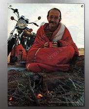 VINTAGE 1973 TX650 YAMAHA SAM LICKLIDER AUSTRALIA TREK CAMPFIRE IMAGE 2 BANNER
