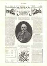 1902 Pierpont Morgan Atlantic Syndicate Cape Town Funeral Train Rhodes
