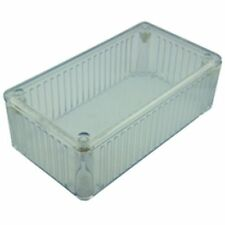 Translucent Polycarbonate Project Box 120x65x40mm Clear