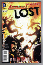 LEGION LOST #16 - TYLER KIRKHAM COVER - LAST ISSUE - THE NEW 52 - 2013
