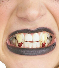 Bloody Fangs Unhappily Everafter Vampire Halloween Costume Accessory Teeth