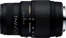 Sigma 70-300mm f/4-5.6 DG Autofocus Lens for Nikon F Mount Cameras - UK STOCK