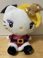 Sanrio Hello Kitty Plush doll Stuffed toy 29�X22cm YOSHIKITTY XJAPAN Kawaii