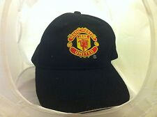 official MANCHESTER UNITED adult  black hat cap soccer football Man Utd FC