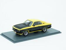 Opel Manta A TE 2800 1975 gelb schwarz yellow black jaune noir NEO 44130 1:43