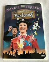 Walt Disney's Mary Poppins DVD Widescreen Digitally Remastered Julie Andrews
