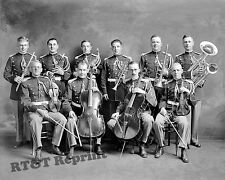Photograph USMC  / Marine Corps Band  Washington DC  Year 1910 8x10