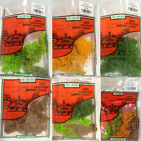 Javis Lichen Mix Green Brown Gold Summer Scenic Scenery Model Railway Wargames