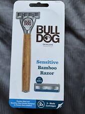 bulldog bamboo razor