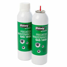 Abbey Predator Maintenance Gas 144A BB Gun Airsoft 270ml Green Gas Lubricant 150