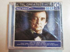 RAY PRICE K-TEL GREATEST HITS 10 TRK CD COUNTRY GOSPEL NEW SEALED CHEROKEECOWBOY