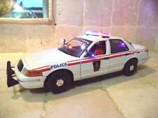 (Militerie) Police 1/18 Canadian Military Diecast pI WORKING LIGHTS & SIREN Ut