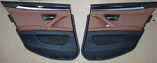 BMW F11 Pannello Porta Posteriore pelle Dakota Cannella-Brown