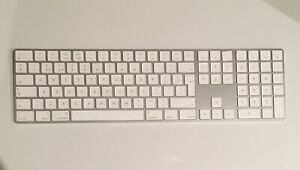 A1843 Apple Magic Keyboard 2 With Numeric Pad 1x White Replacement Key & Hinge