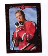 1995-96 UPPER DECK ELECTRIC ICE #507 DANIEL CLEARY ROOKIE CARD HOCKEY UD RC NRMT