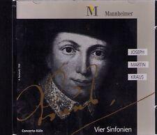 Joseph Martin Kraus | quatre symphonies | CD-ALBUM