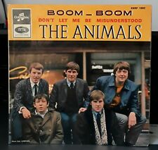 "THE ANIMALS "" Boom - Boom /  Don't Let Me Be Misunderstood ""  Columbia ESRF 1632"