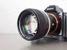 Nikon Nikkor 85mm 1,4 AIS   --- LESEN ---- auch Sony 7r 7 a6000 Nex und Co.. !!!