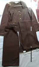 ST.JOHN Collection Womens 3Pc Suit  brown Jacket, Skirt and Pants Sz 4-6