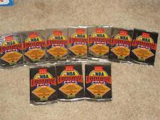 LOT OF 10 ULTRA RARE 1992-93 MCDONALD'S UPPER DECK SEALED NBA FOIL PACKS - NICE!