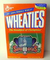Joe Namath Wheaties Box Motion Card Superbowl III