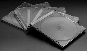 Media CD-Hüllen Slimcase 5 mm für 1 CD/DVD
